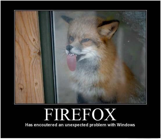 firefox demotivational poster