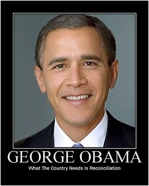 george obama demotivational poster