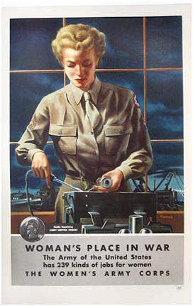 womans place in war
