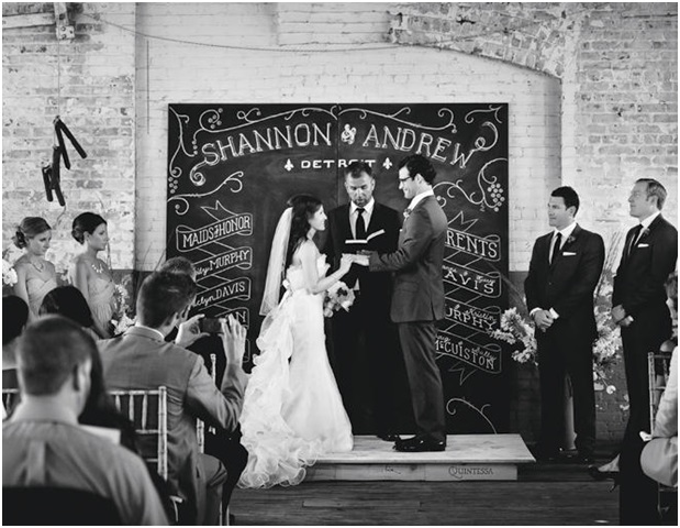Wedding Chalkboard Backdrop