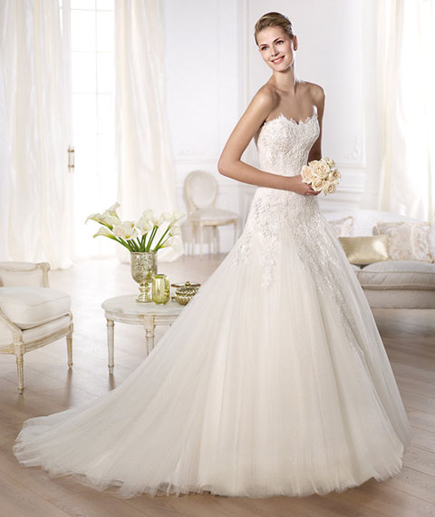 The Silhouettes Of Wedding Dresses How To Choose A Dress By Your Body Type