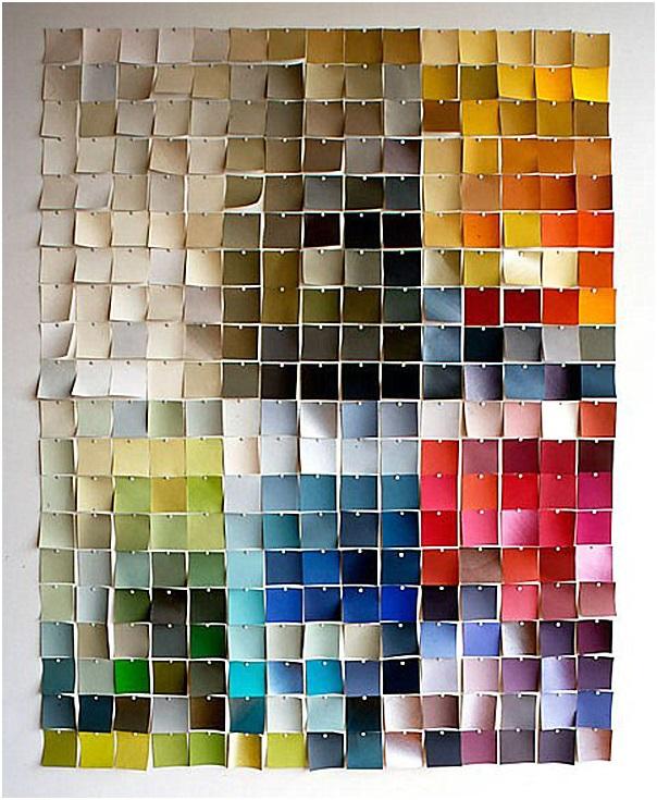 Paint Chips Design