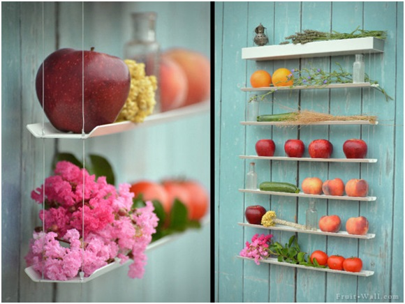 A Fruit and Vegetable Wall