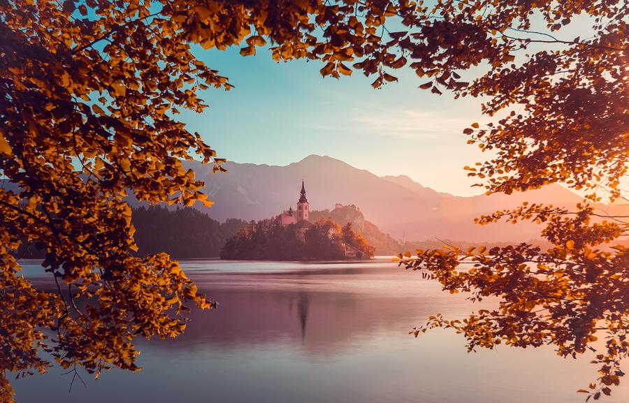 Slovenia at Sunrise