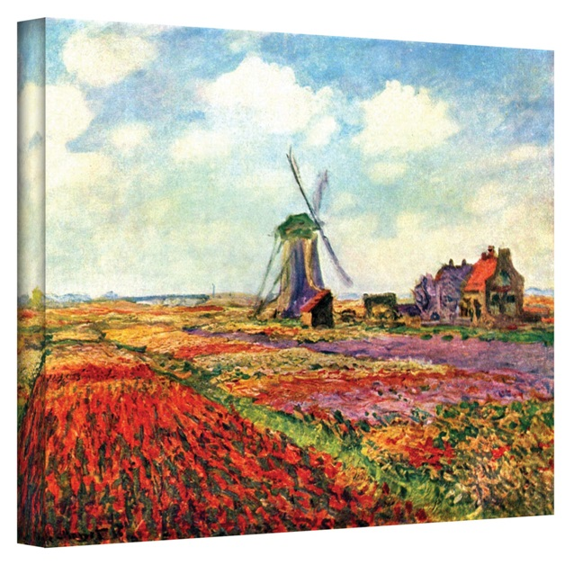 A Reproduction of a Painting by Claude Monet