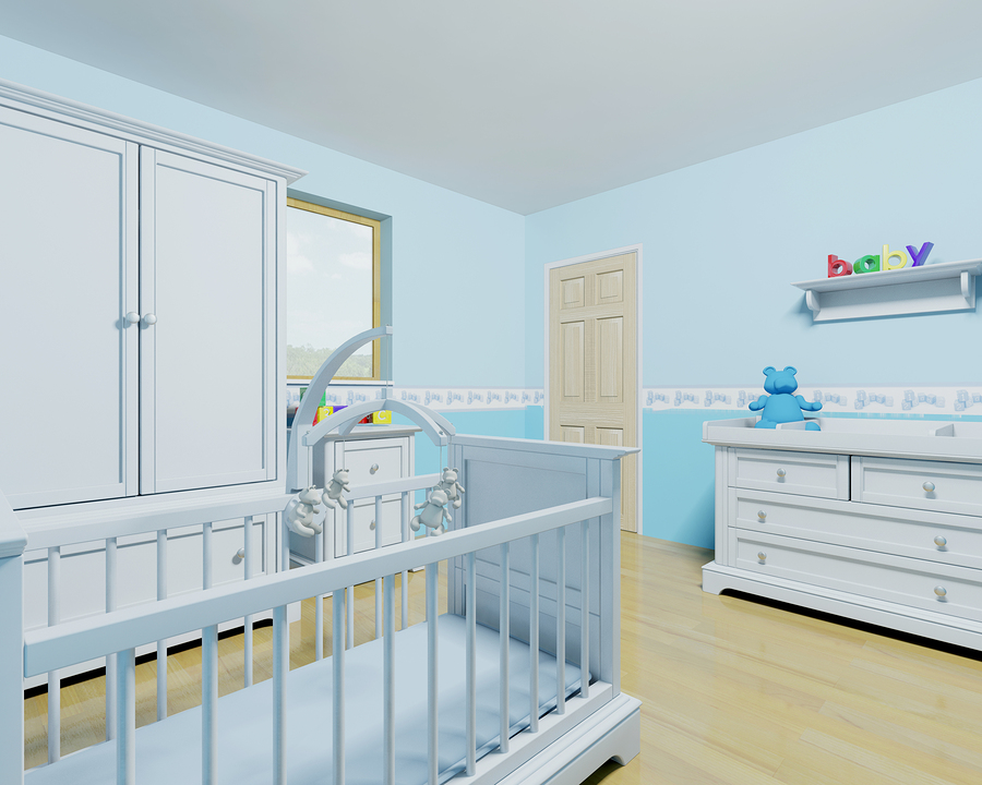 A Blue Baby Room