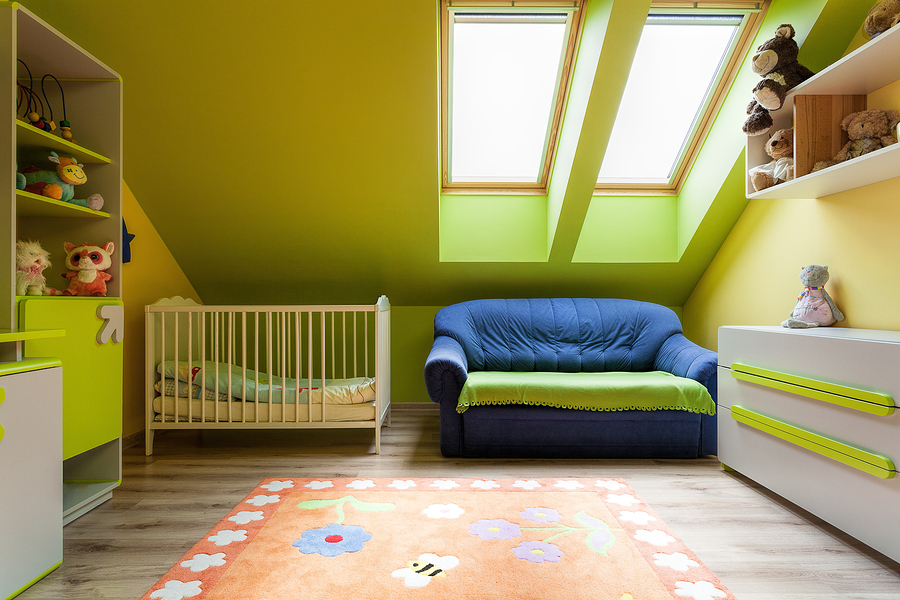 A Green Baby Room
