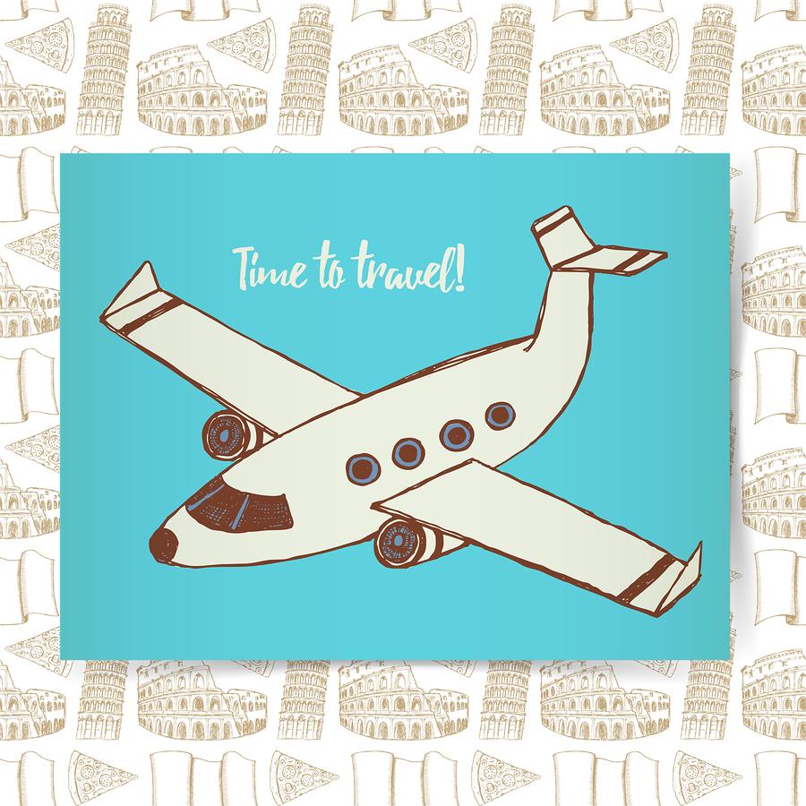 A Plane Poster