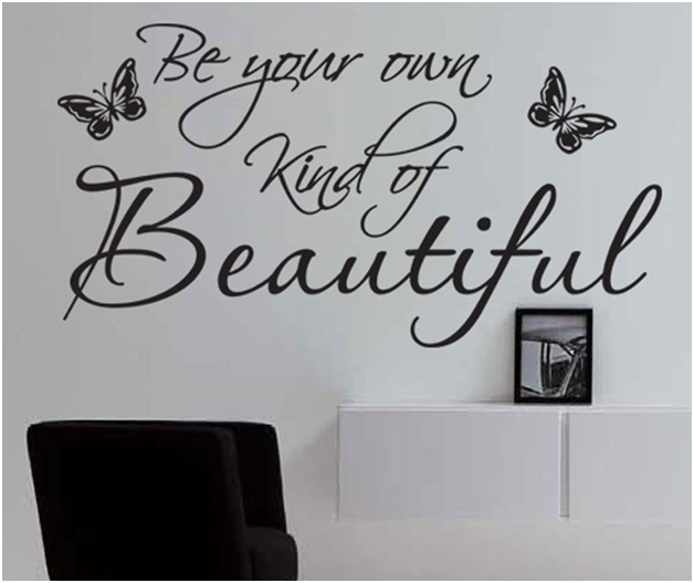An Inspirational Wall Decal