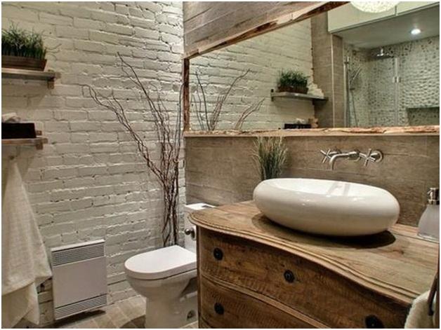Brick Bathroom Walls
