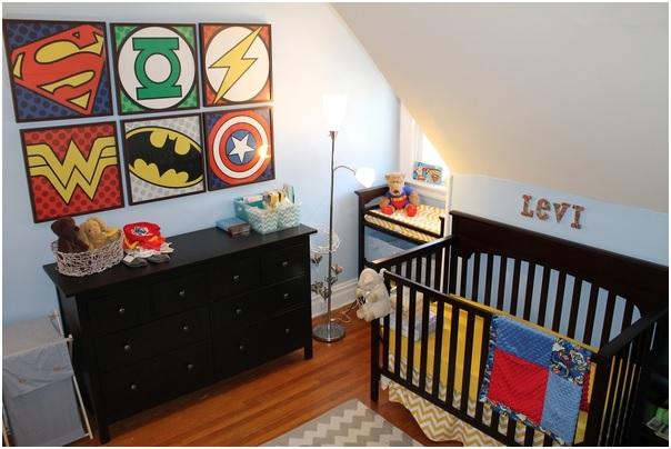 Super Hero Nursery Theme