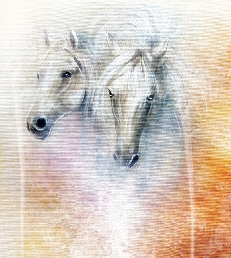 The Horses Painting