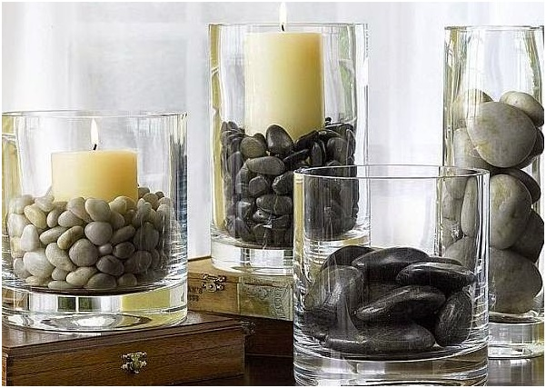 A Decoration Set For Spa Bedroom