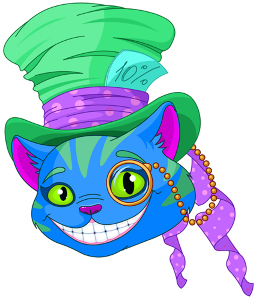 A Cheshire Cat Poster