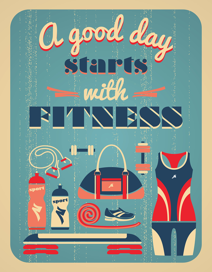 Motivational Fitness Posters: Gym Wall Decorations
