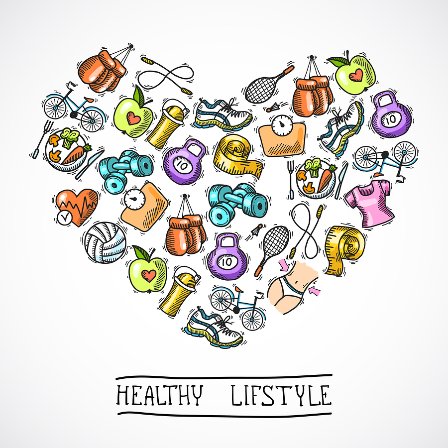 A Health and Fitness Poster