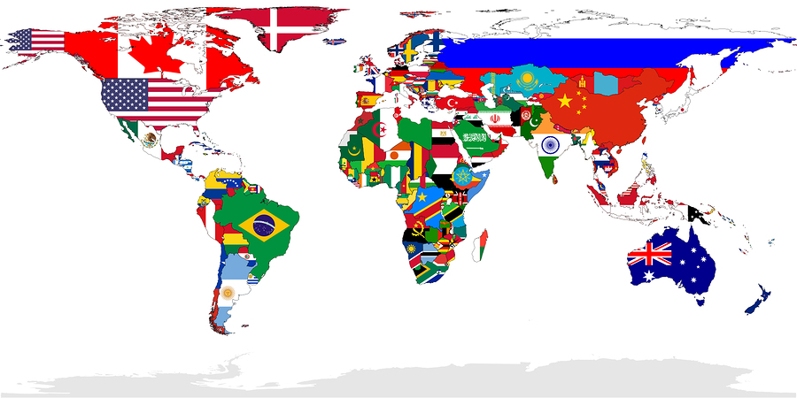 World Map Posters Kinds Styles and Interesting Designs