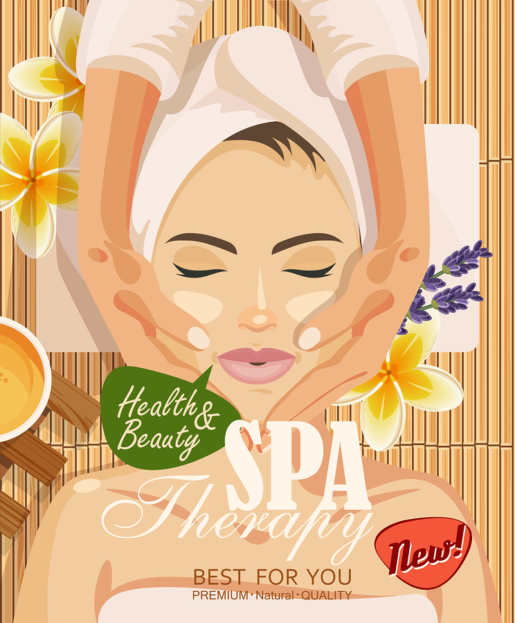 A Spa Salon Poster