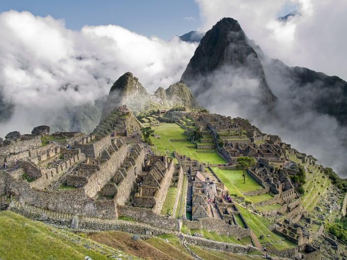 A Machu Picchu Poster