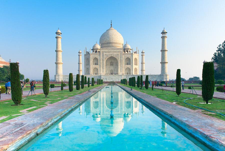 A Taj Mahal India Poster
