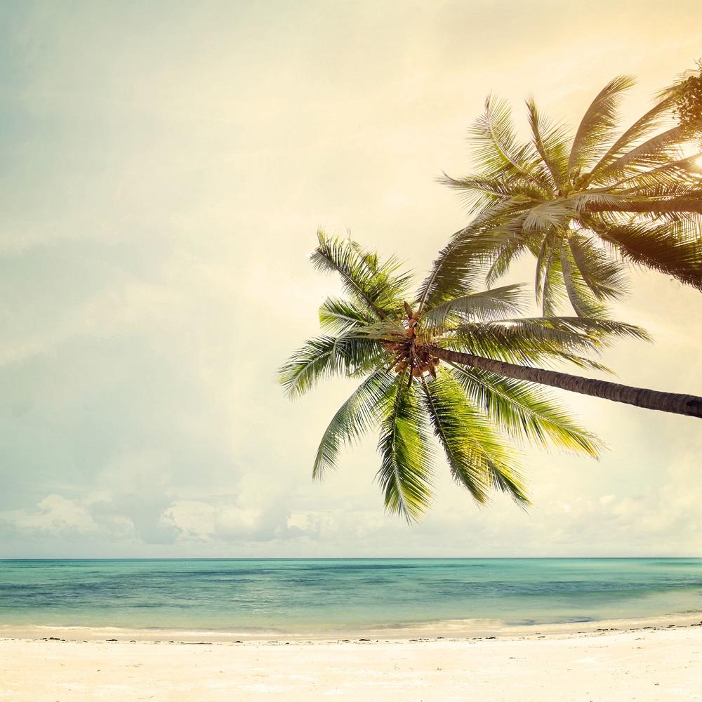 A Vintage Beach Poster