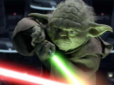A Yoda Poster