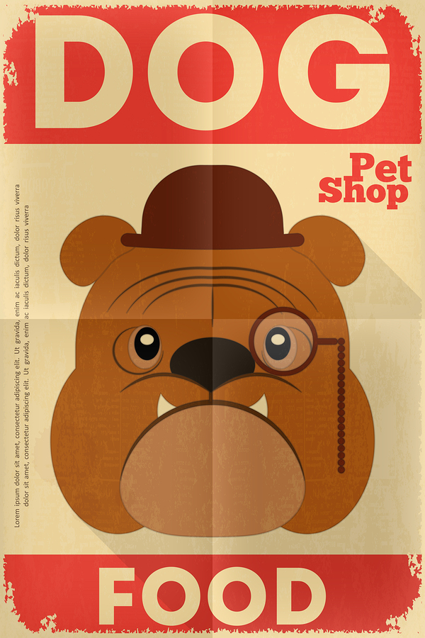 A Vintage Dog Poster