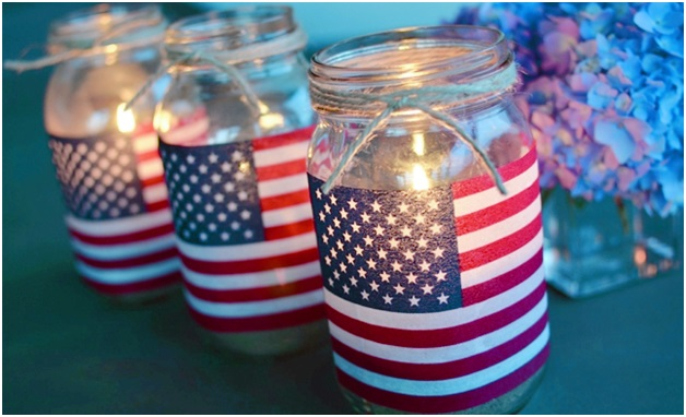 4th of july decorations amazing patriotic ideas for the for American flag decoration