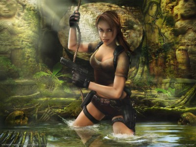 Tomb Raider the Angel of Darkness Poster