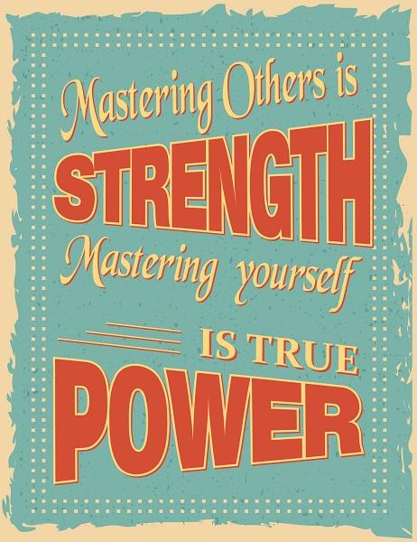 A Vintage Motivational Poster