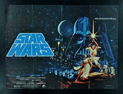 A Vintage Star Wars Poster