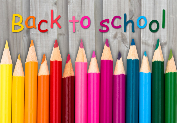 A Back to School Poster