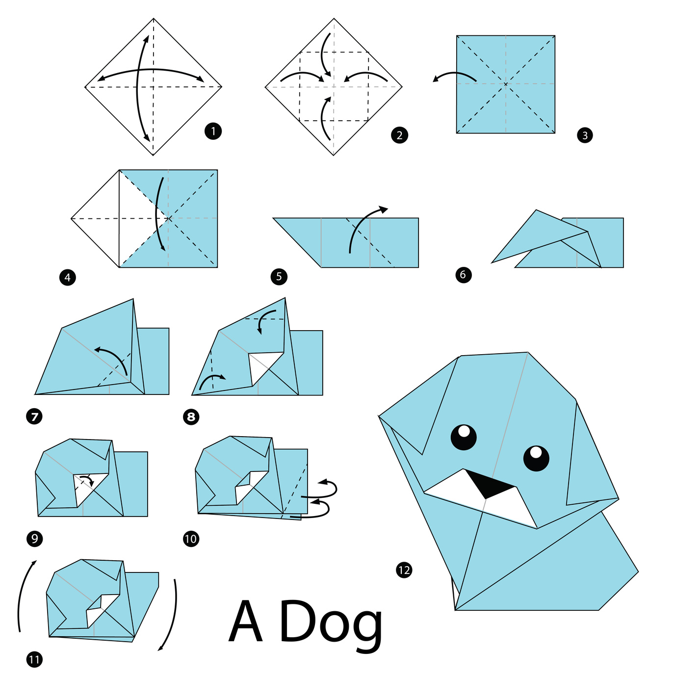 Origami Written Instructions