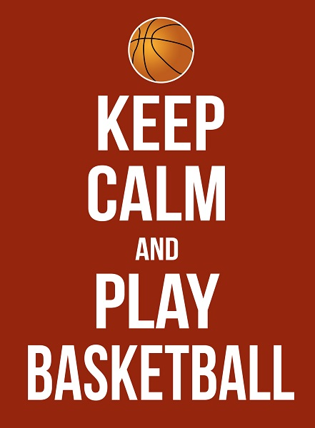 A Keep Calm Sports Poster