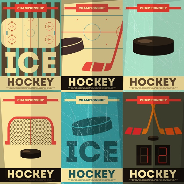 A Vintage Hockey Poster