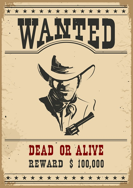 How to Create and Use Wanted Posters for Different Goals – Picture of a Wanted Poster