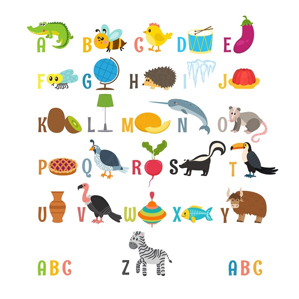A Children Alphabet Poster