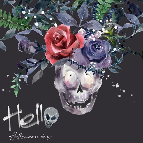 A Halloween Art Poster