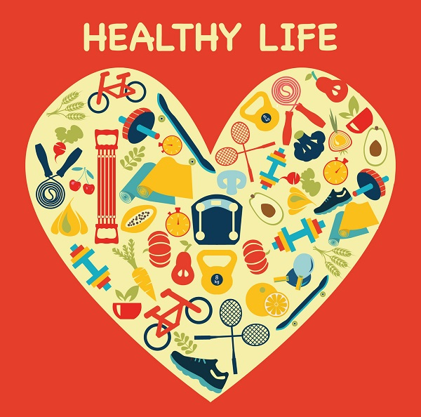 A Healthy Lifestyle Poster