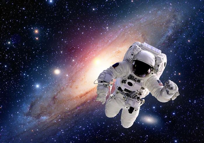 A NASA Astronaut Poster