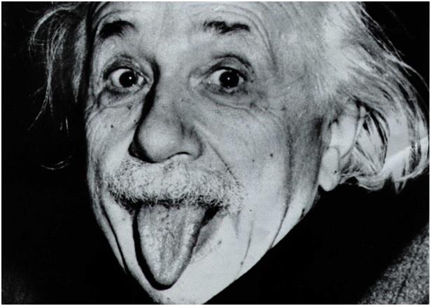 An Einstein Tongue Poster