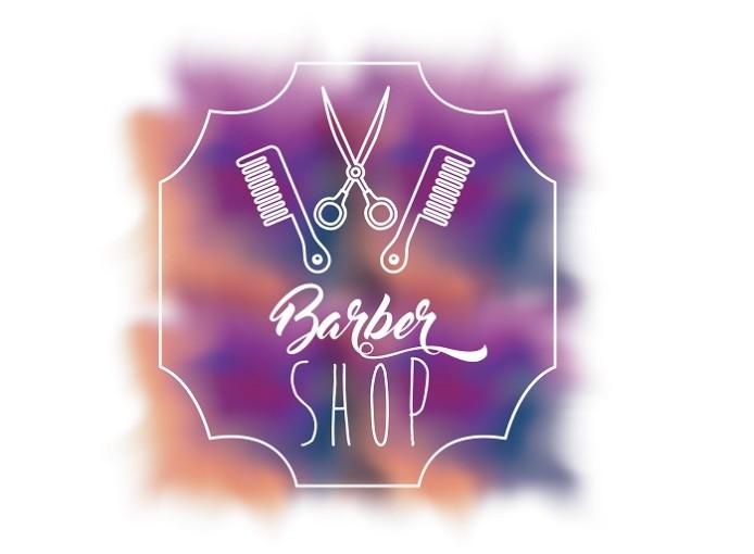 A Barber Shop Poster