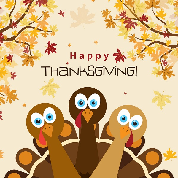A Cartoon Turkeys Thanksgiving Poster