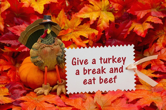 A Funny Thanksgiving Poster