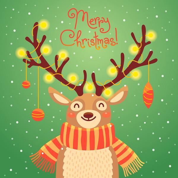 A Reindeer Poster