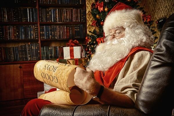 A Santa Poster