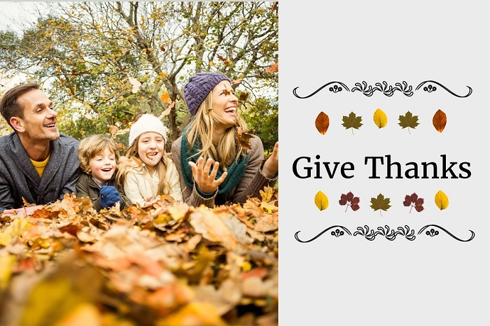 A Thanksgiving Photo Poster