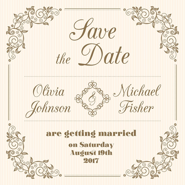 A Save the Date Print