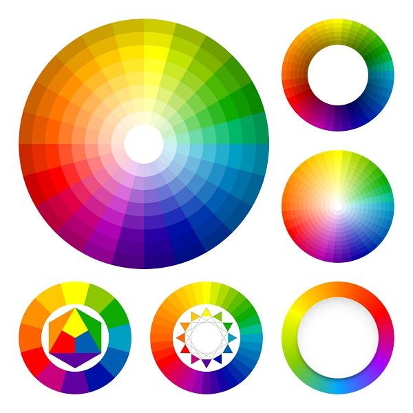 A Color Wheels Image