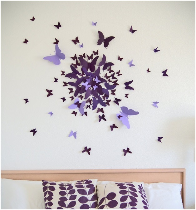 Paper Butterflies Decor